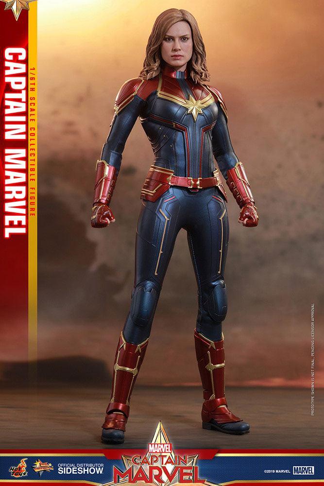 Figurine Captain Marvel Movie Masterpiece Captain Marvel 29cm 1001 Figurines