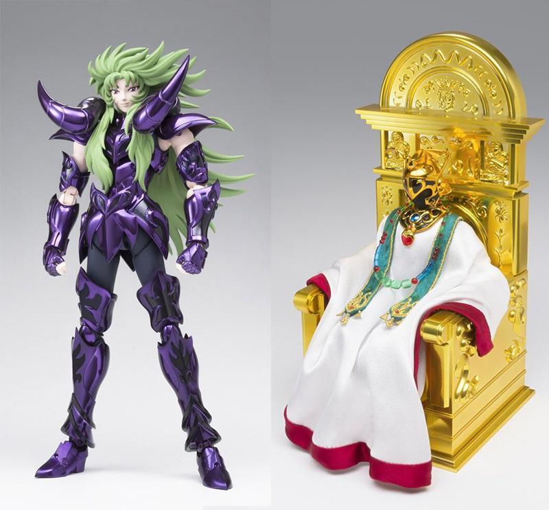 Set Saint Seiya Myth Cloth EX Aries Shion Surplice et Grand Pope  1001 Figurines