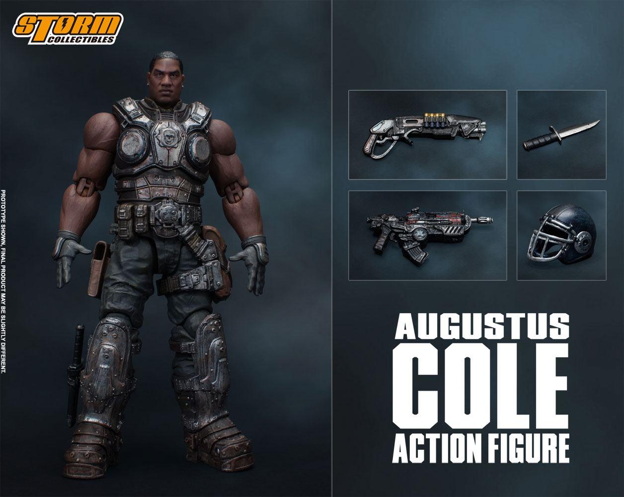 Figurine Gears of War 5 Augustus Cole 16cm