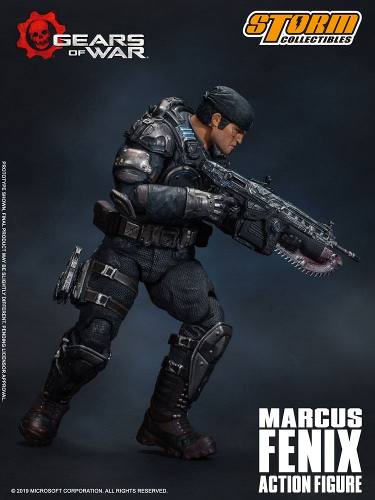 max fenix gears of war figurine