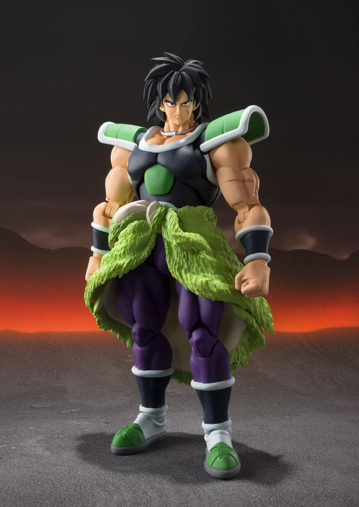 Figurine Dragon Ball Super Broly S.H. Figuarts Broly 19cm 1001 Figurines