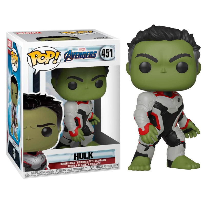 Figurine Avengers Endgame Funko POP! Hulk 9cm 1001 Figurines