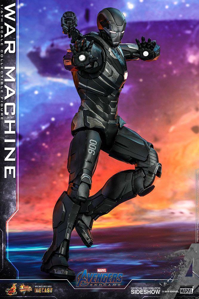 Figurine Avengers Endgame Movie Masterpiece Series Diecast War Machine 32cm 1001 Figurines