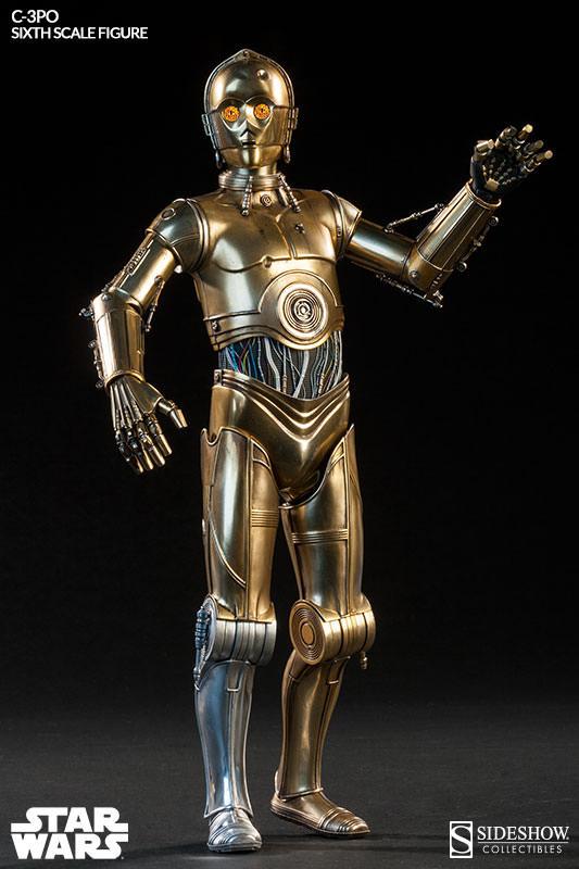 Figurine Star Wars C 3PO 30 cm  Figurines Cinéma TV/Star Wars  1001 Figurines
