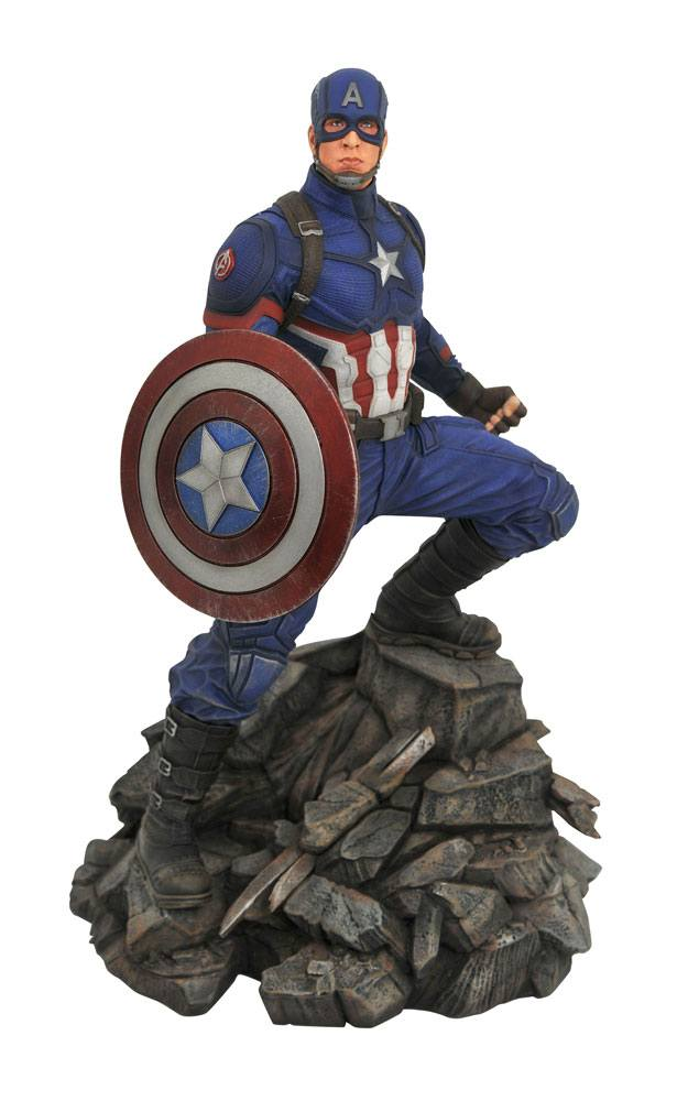 Statuette Avengers Endgame Marvel Movie Premier Collection Captain America 30cm 1001 Figurines