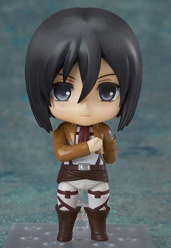 Figurine Nendoroid Attack on Titan Mikasa Ackerman 10cm 1001 Figurines (3)
