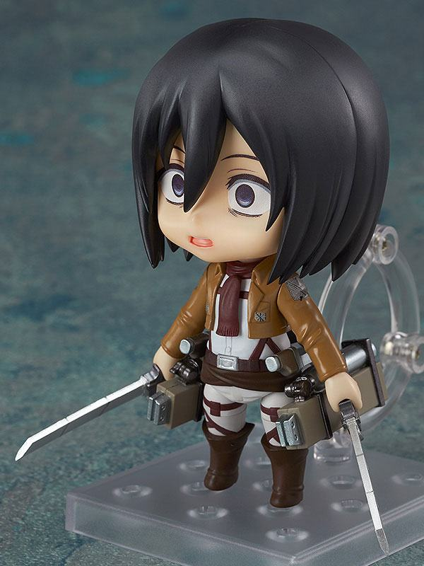 Figurine Nendoroid Attack on Titan Mikasa Ackerman 10cm 1001 Figurines (5)