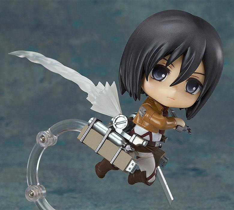 Figurine Nendoroid Attack on Titan Mikasa Ackerman 10cm 1001 Figurines (7)