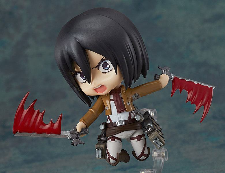 Figurine Nendoroid Attack on Titan Mikasa Ackerman 10cm 1001 Figurines (8)