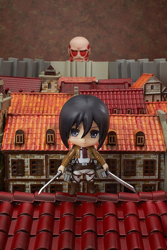 Figurine Nendoroid Attack on Titan Mikasa Ackerman 10cm 1001 Figurines (9)