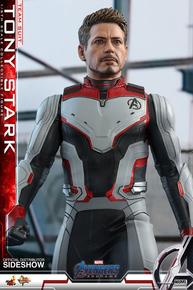 Figurine Avengers Endgame Movie Masterpiece Tony Stark Team Suit 30cm 1001 Figurines (3)