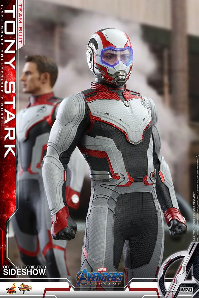 Figurine Avengers Endgame Movie Masterpiece Tony Stark Team Suit 30cm 1001 Figurines (4)