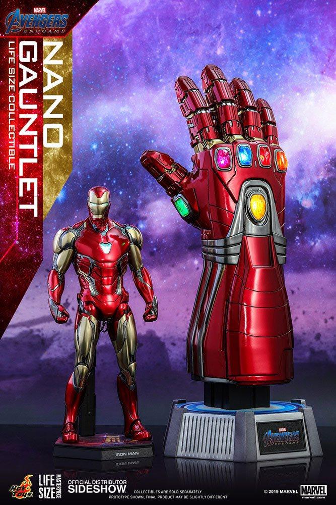 Réplique Avengers Endgame Life-Size Masterpiece Nano Gauntlet 52cm 1001 Figurines (2)