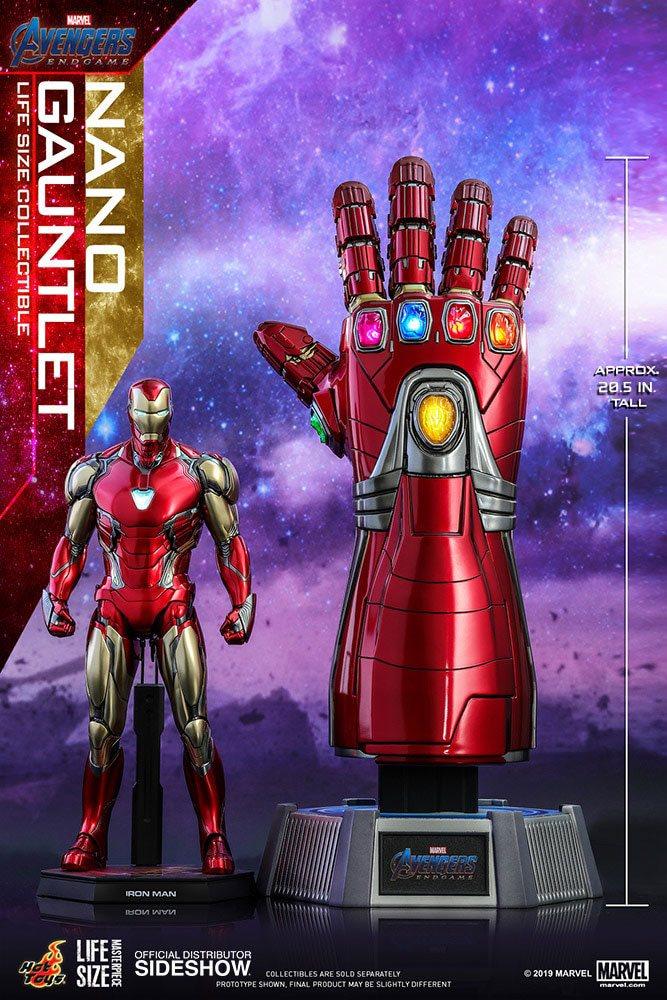 Réplique Avengers Endgame Life-Size Masterpiece Nano Gauntlet 52cm 1001 Figurines (8)