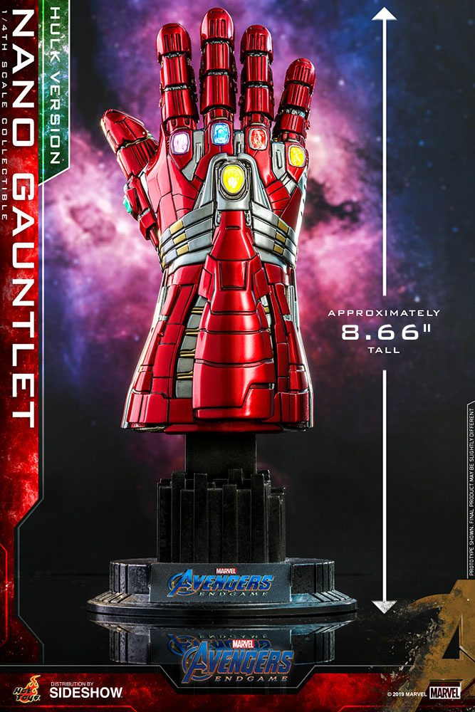 Réplique Avengers Endgame Nano Gauntlet Hulk Version 22cm 1001 Figurines (2)