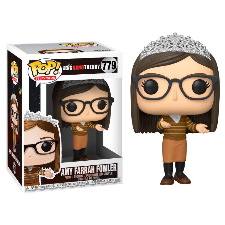 Figurine The Big Bang Theory Funko POP! Amy 9cm 1001 Figurines