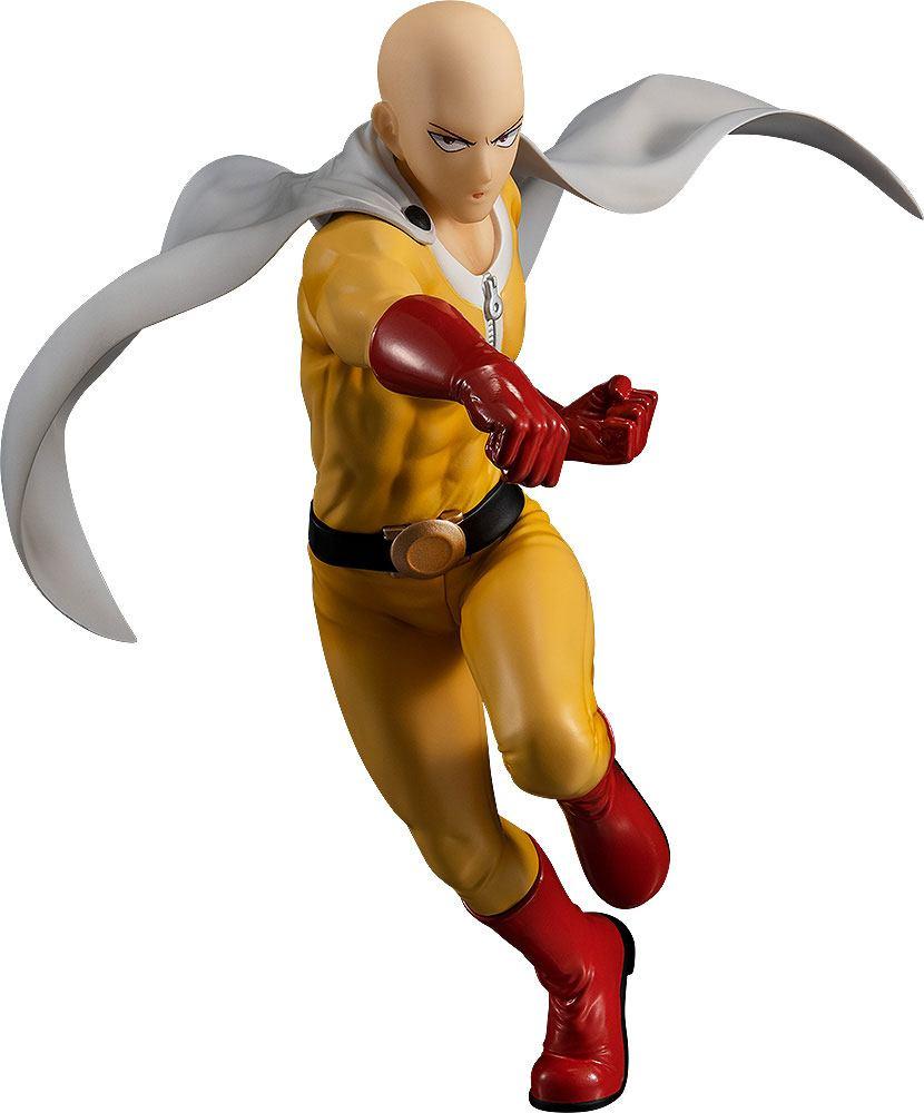 Statuette One Punch Man Pop Up Parade Saitama Hero Costume Ver. 18cm 1001 Figurines (1)