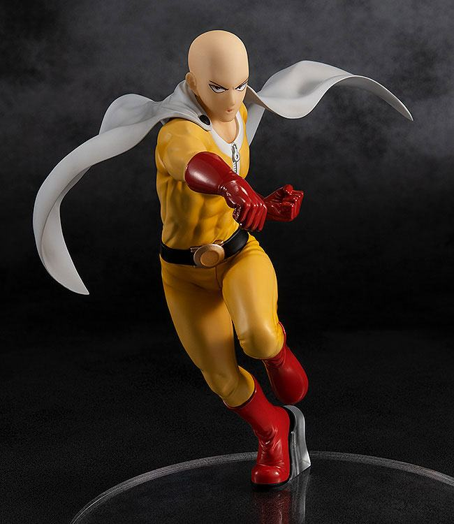Statuette One Punch Man Pop Up Parade Saitama Hero Costume Ver. 18cm 1001 Figurines (2)
