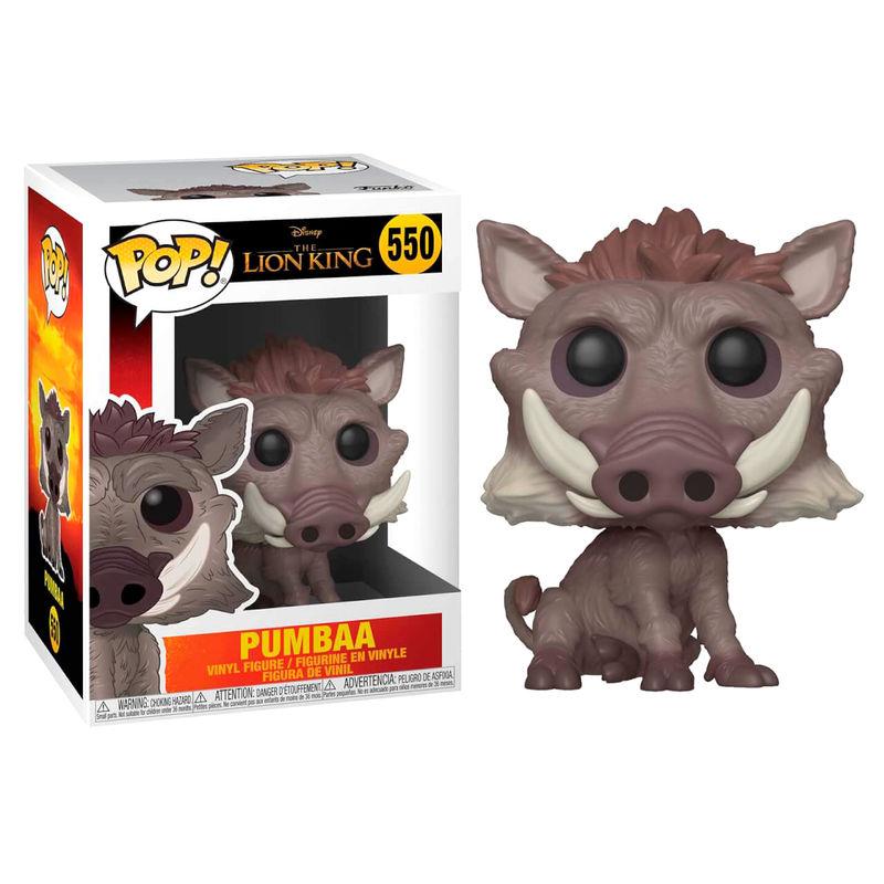 Figurine Le Roi lion 2019 Funko POP! Disney Pumbaa 9cm 1001 figurines