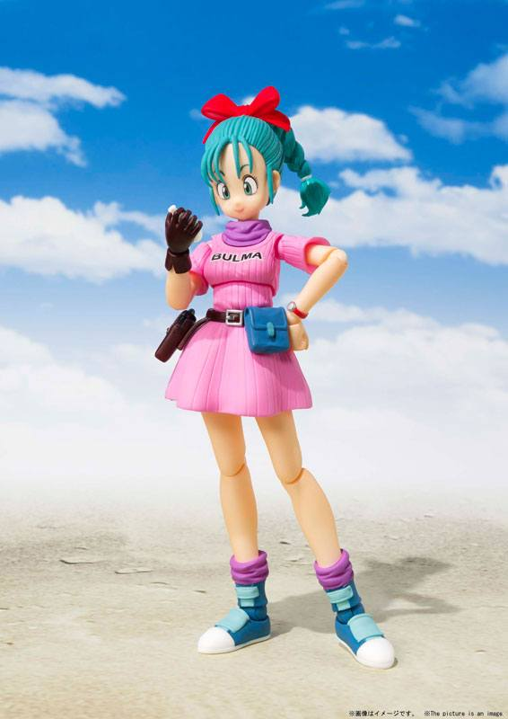 Figurine Dragon Ball S.H. Figuarts Bulma 14cm 1001 Figurines (1)