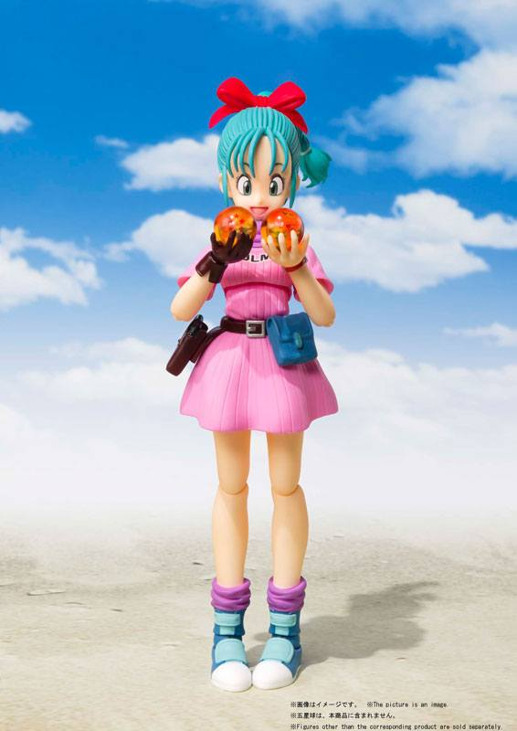 Figurine Dragon Ball S.H. Figuarts Bulma 14cm 1001 Figurines (2)