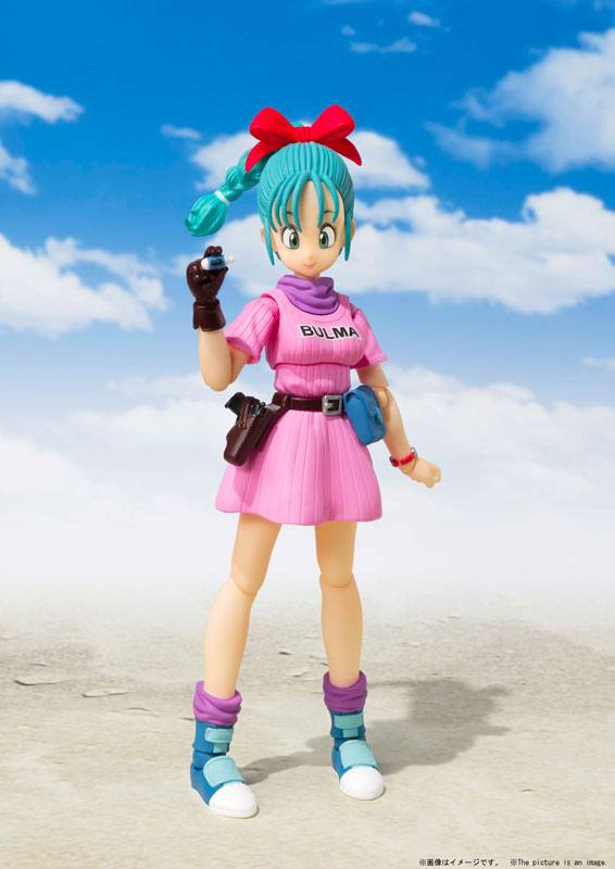 Figurine Dragon Ball S.H. Figuarts Bulma 14cm 1001 Figurines (4)