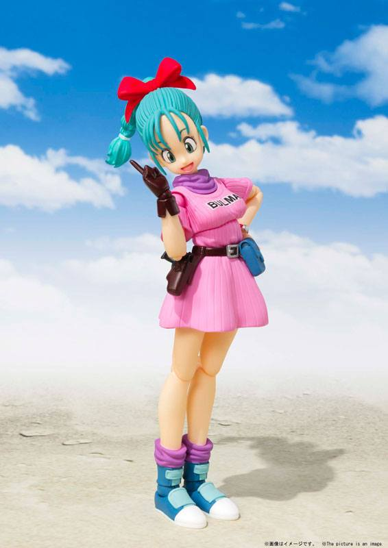 Figurine Dragon Ball S.H. Figuarts Bulma 14cm 1001 Figurines (3)