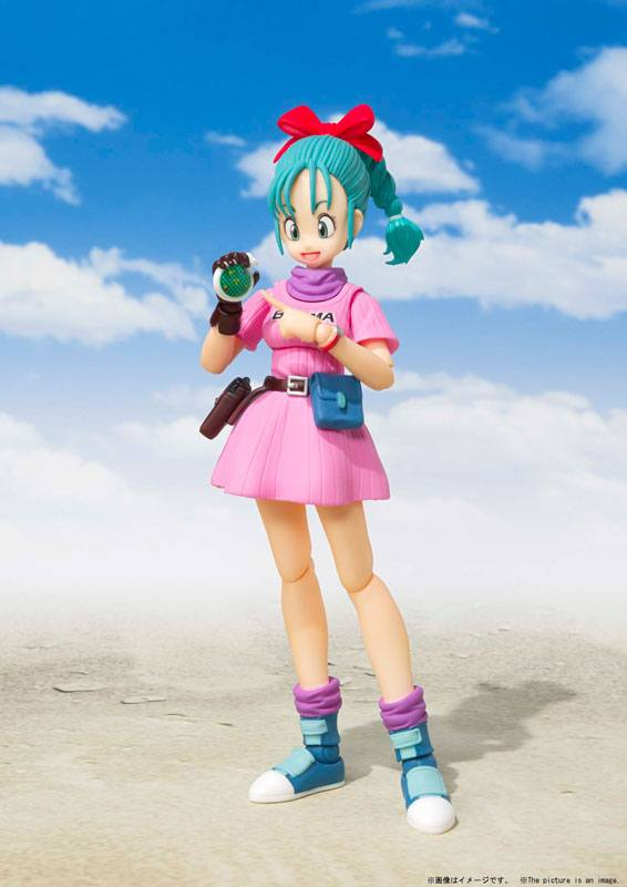 Figurine Dragon Ball S.H. Figuarts Bulma 14cm 1001 Figurines (5)