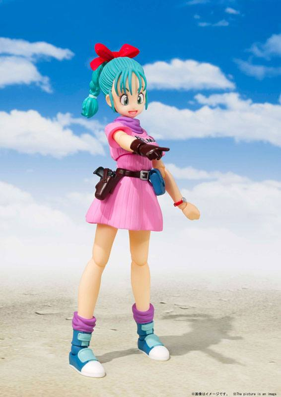 Figurine Dragon Ball S.H. Figuarts Bulma 14cm 1001 Figurines (6)