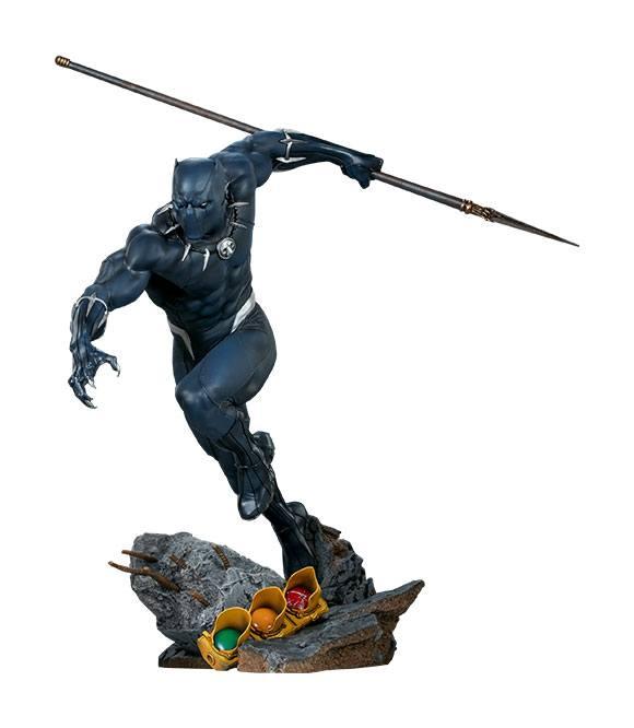 Statuette Avengers Assemble Black Panther 41cm 1001 FIGURINES (1)