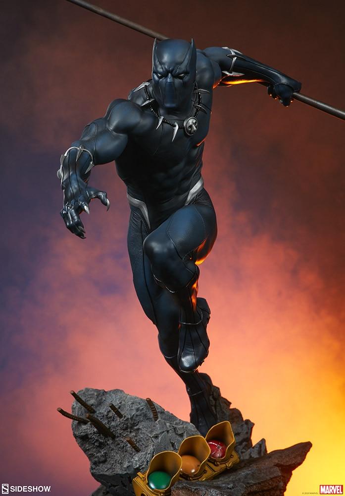 Statuette Avengers Assemble Black Panther 41cm