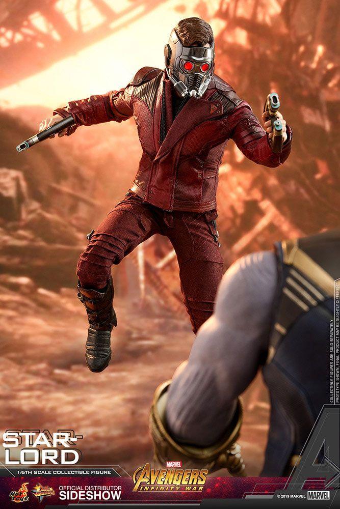 Figurine Avengers Infinity War Movie Masterpiece Star-Lord 31cm 1001 Figurines (2)