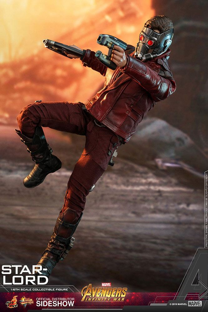 Figurine Avengers Infinity War Movie Masterpiece Star-Lord 31cm 1001 Figurines (3)