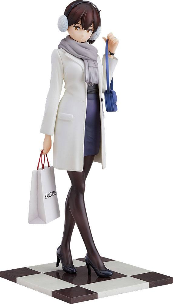 Statuette Kantai Collection Kaga Shopping Mode 21cm 1001 Figurines (1)