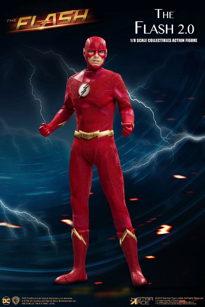 Figurine The Flash Real Master Series The Flash 2.0 Normal Version 23cm 1001 Figurines (1)