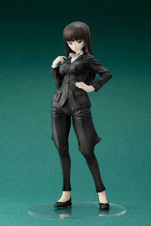 Statuette Girls und Panzer das Finale Shiho Nishizumi 24cm 1001 Figurines (1)