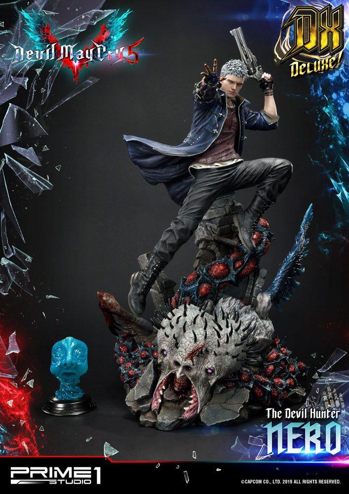 Statue Devil May Cry 5 Nero Deluxe Ver. 70cm