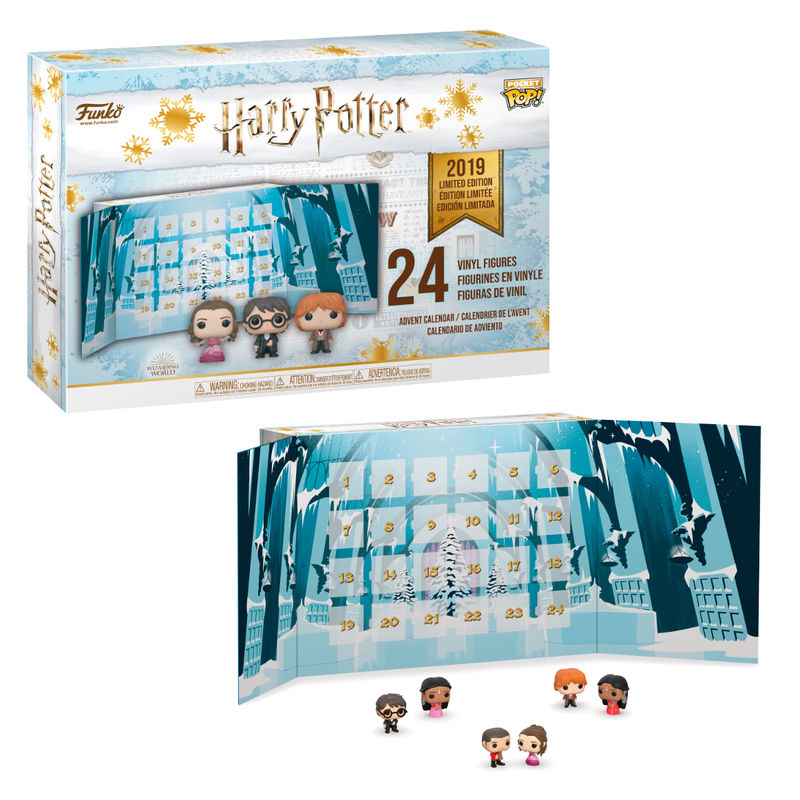 Calendrier de l´avent Harry Potter Wizarding World 2019 Funko Pocket POP!  1001 figurines 1
