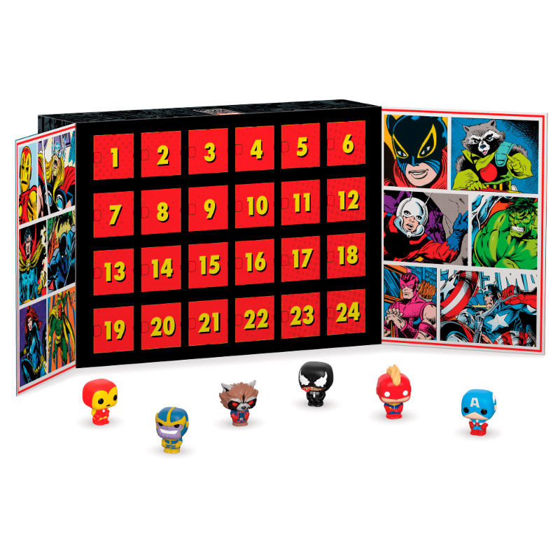 Calendrier de l´avent Marvel Funko Pocket POP! 1001 figurines 2