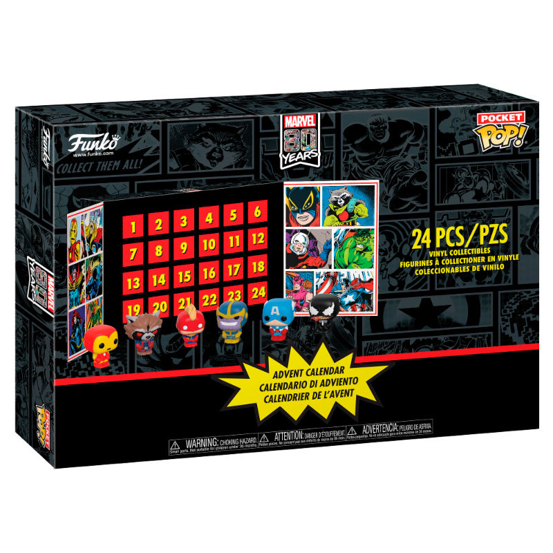 Calendrier de l´avent Marvel Funko Pocket POP! 1001 figurines 3