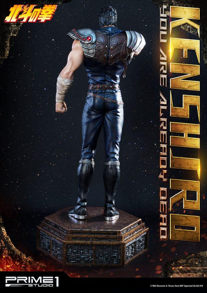 Statuette Fist of the North Star Kenshiro You Are Already Dead Ver. 69cm 1001 Figurines (5)