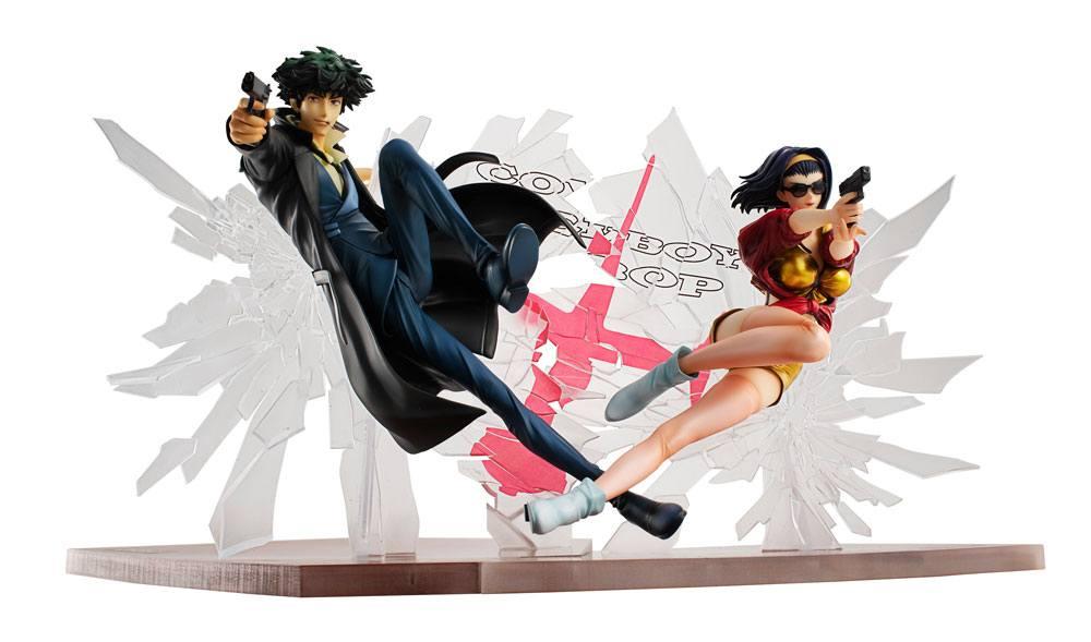 Statuettes Cowboy Bebop Spike Spiegel & Faye Valentine 1st GIG 20cm 1001 Figurines (1)