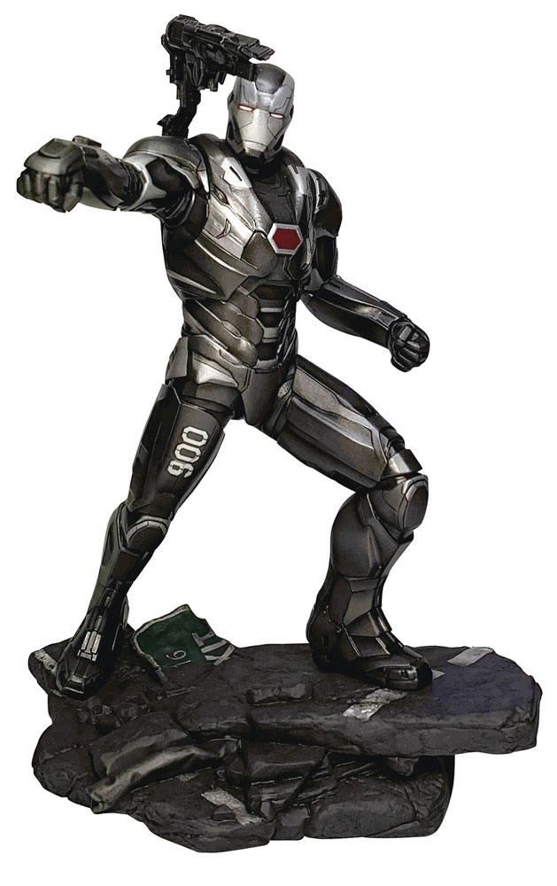 Statuette Avengers Endgame Marvel Gallery War Machine 23cm 1001 figurines