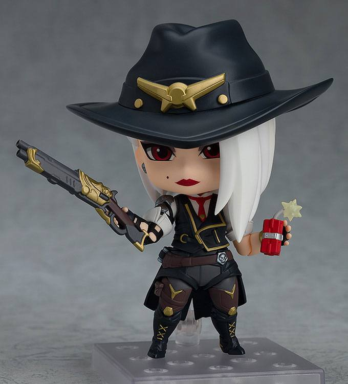 Figurine Nendoroid Overwatch Ashe Classic Skin Edition 10cm 1001 figurines (4)