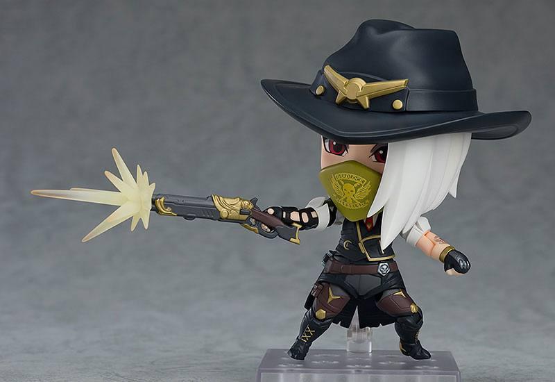 Figurine Nendoroid Overwatch Ashe Classic Skin Edition 10cm 1001 figurines (7)