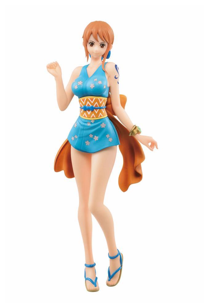 Statuette One Piece Ichibansho Nami Onami 25cm 1001 figurines (1)