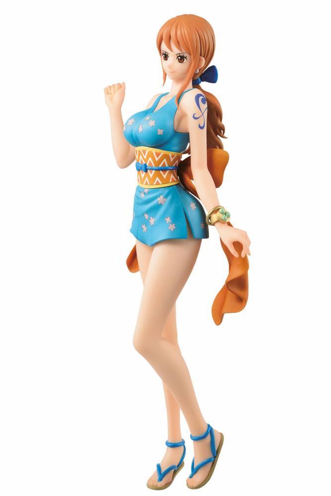 Statuette One Piece Ichibansho Nami Onami 25cm 1001 figurines (4)