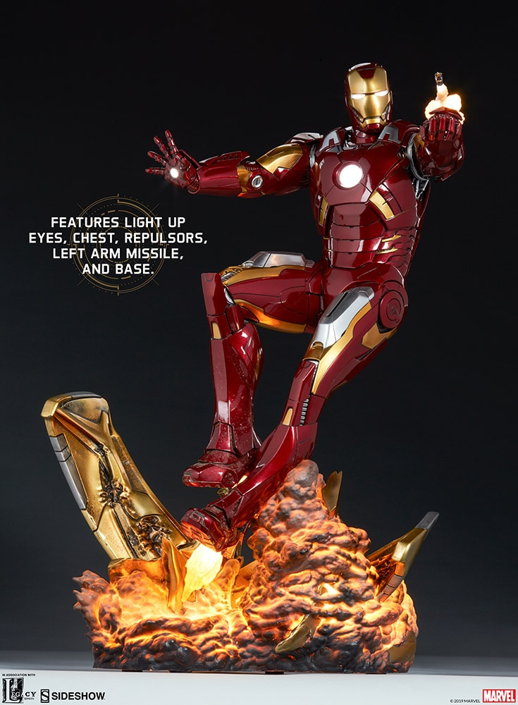 Statue The Avengers Iron Man Mark VII 54cm 1001 fIGURINES (1)