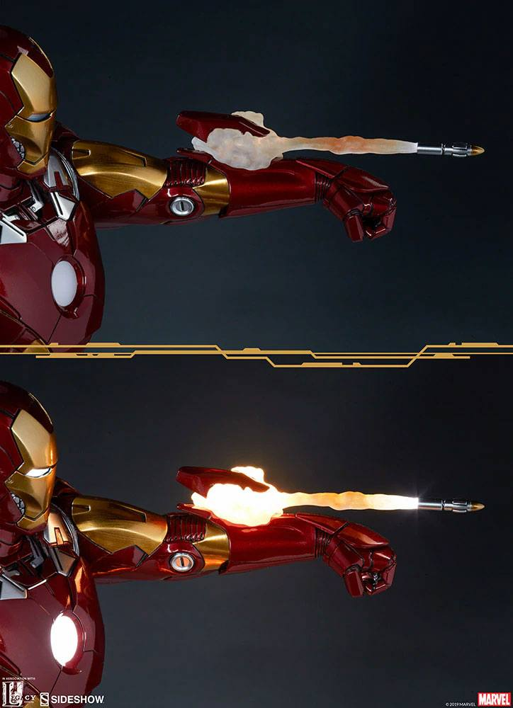 Statue The Avengers Iron Man Mark VII 54cm 1001 fIGURINES (7)