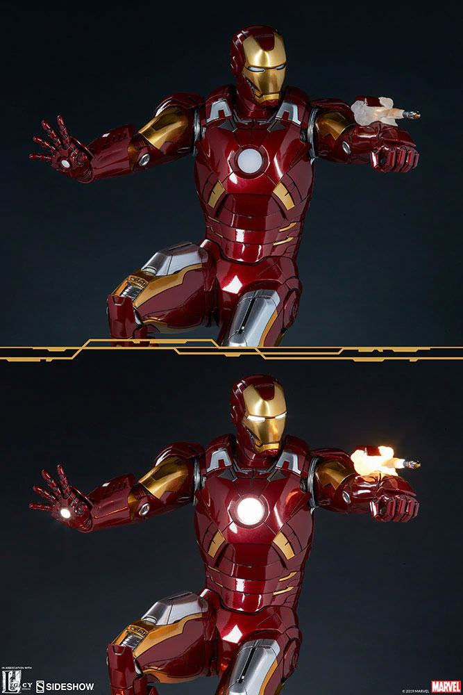 Statue The Avengers Iron Man Mark VII 54cm 1001 fIGURINES (9)